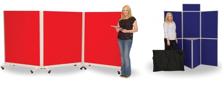 Mobile Partitions & Display Boards