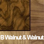 Burr Walnut and Walnut