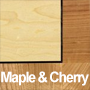 Maple and Cherry